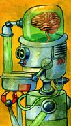 """BrainBot"" ©Matthew Laznicka"
