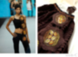 needle.Cプロフィール パリ服飾専門学校の卒業制作