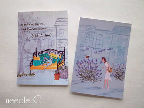 needle.C Post Card