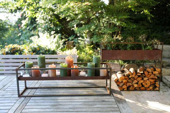 Volante Tischdeko und Holzstapler