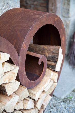 SAREMO Holzstapler Detail