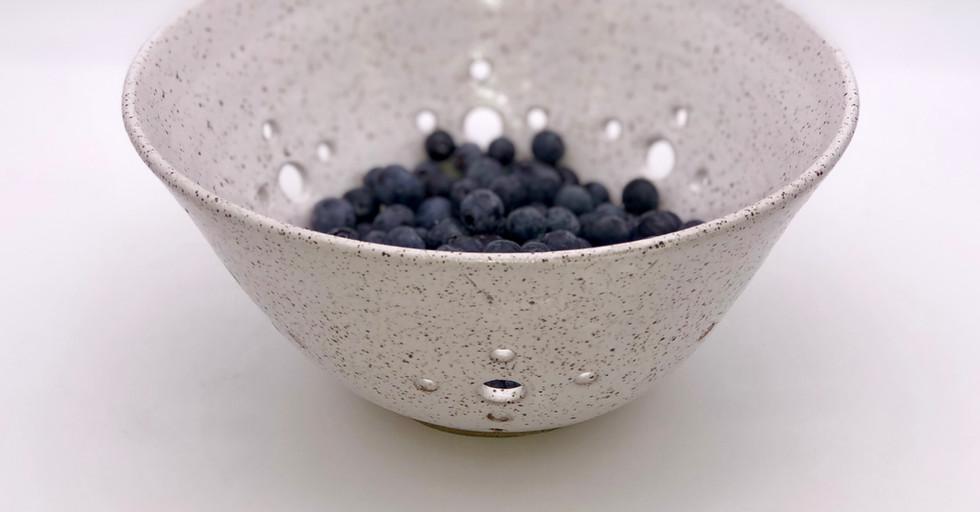 Farmhouse White Berry Bowl