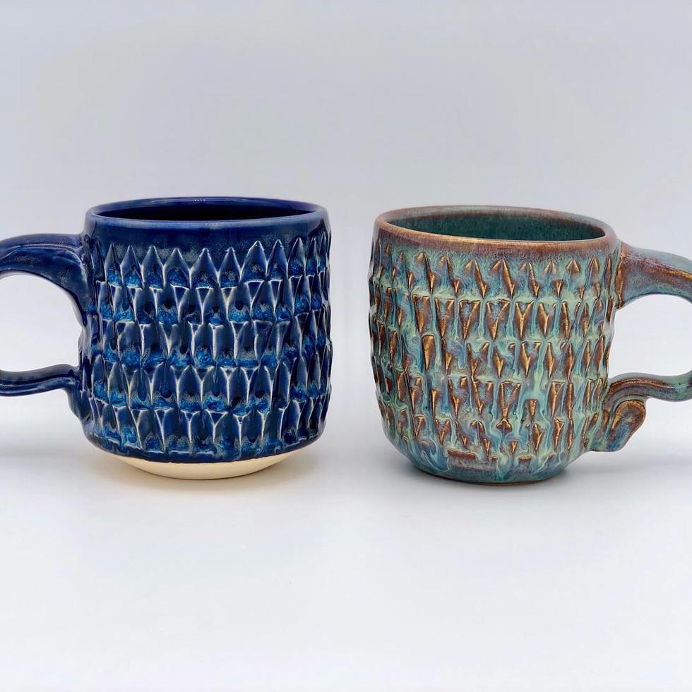Triangle Texture Mugs