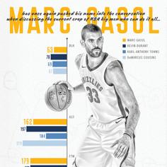 Marc Gasol Statistics