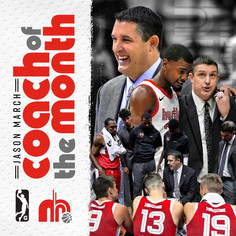 Jason March Coach of the Month Social Graphic