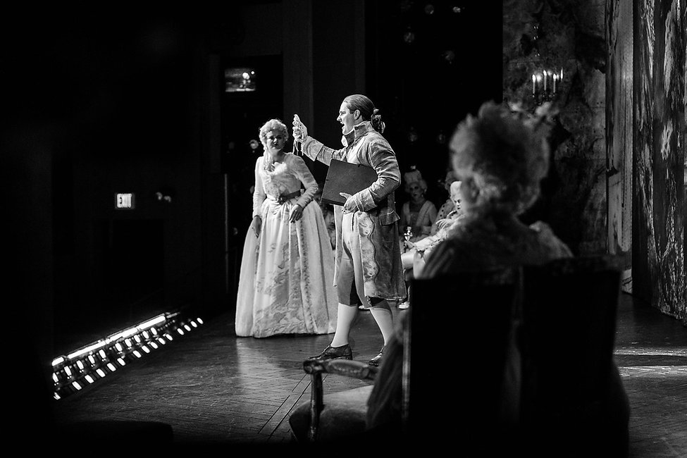 Jonathan Bryan, Ghosts of Versailles, Glimmerglass, Photo by Karli Cadell