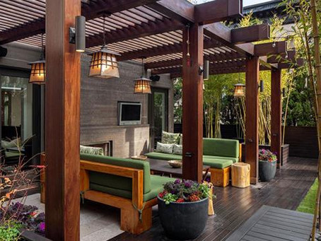The Trend This Spring: Pergolas