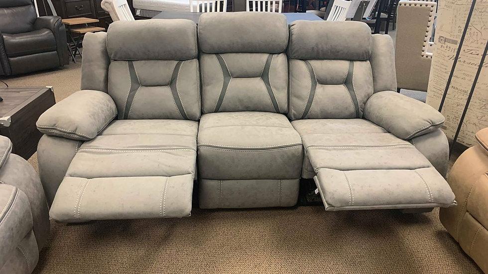 Higgins Overstuffed Upholstered Sofa Set