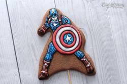 """Пряник """"Капитан Америка"""""""
