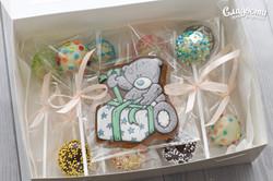 Подарок кейк-попсы и пряник