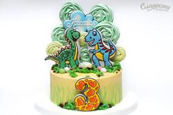"""Торт """"Динозавры"""""""