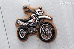 Пряник кроссовый мотоцикл