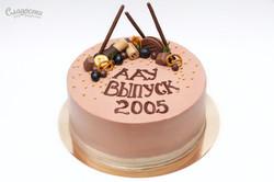 """Торт """"Выпуск 2005"""""""