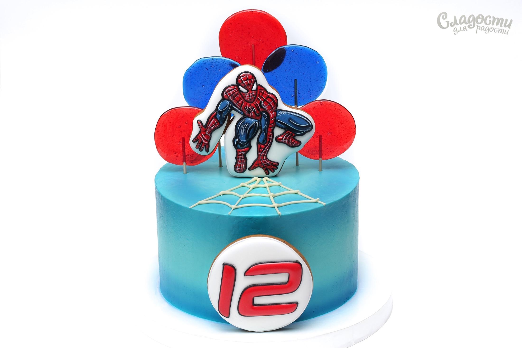 "Торт ""Человек-паук"""