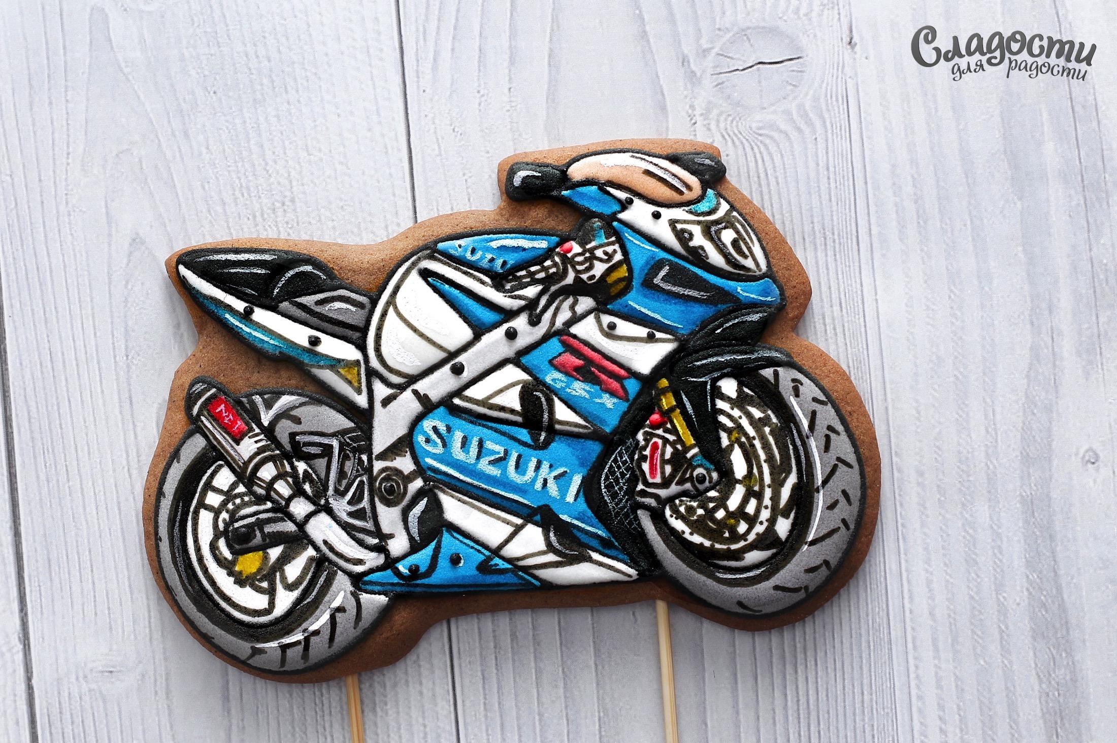 Пряничный мотоцикл