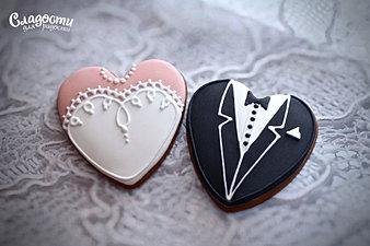 свадебные пряники фото