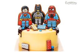 "Торт ""Супергерои Лего"""