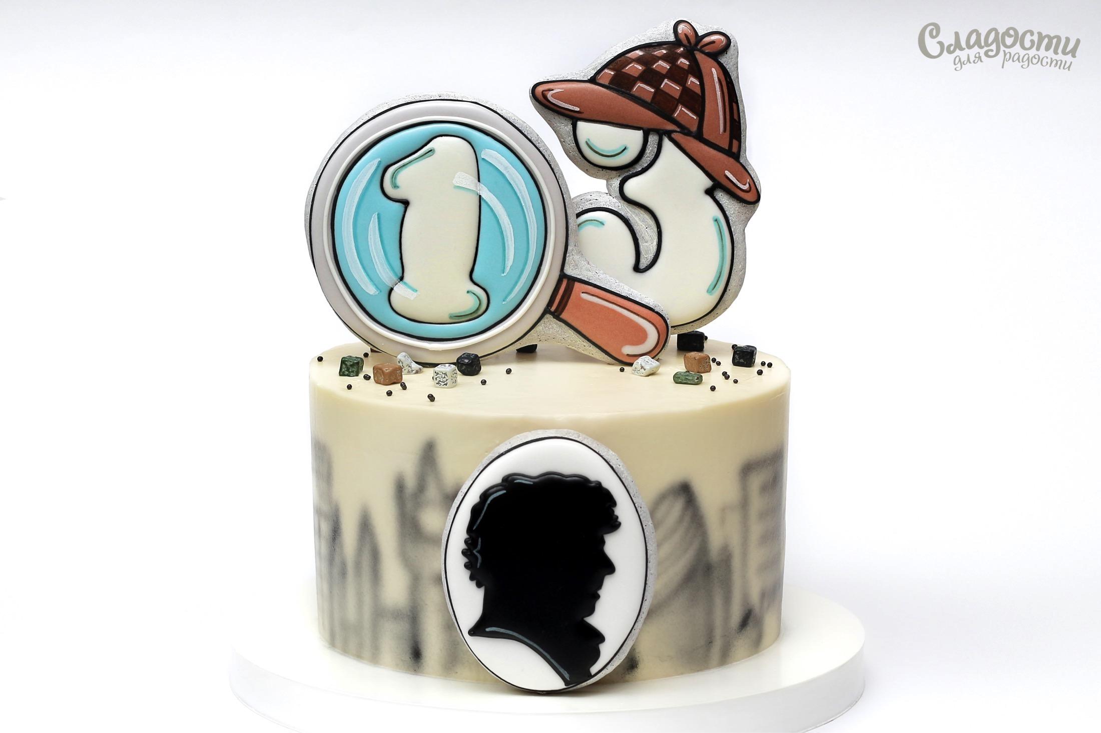 """Торт """"Шерлок"""""""