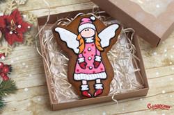 "Имбирный пряник ""Новогодний ангел"""