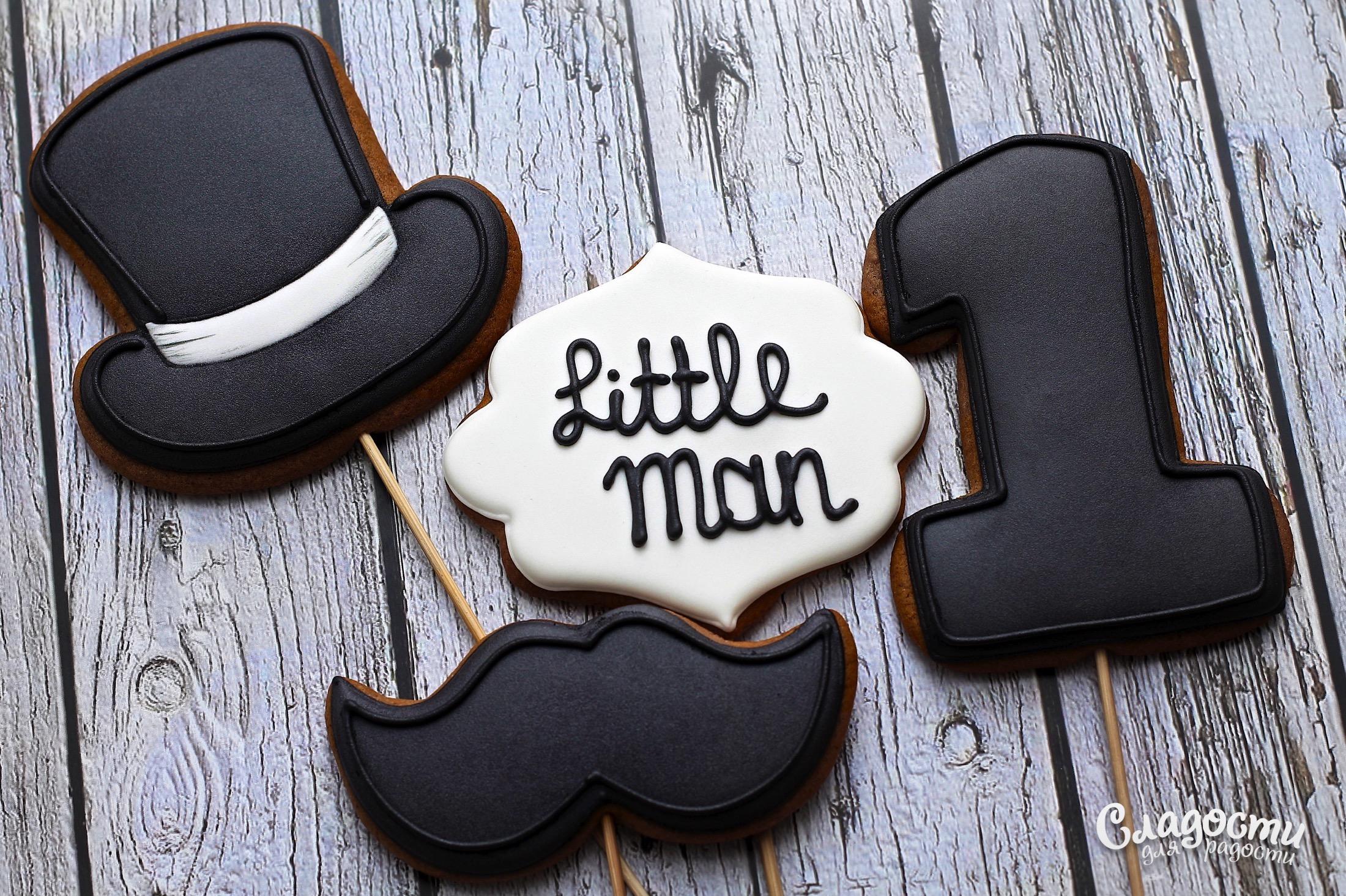 "Пряники на палочке ""Litlle Man"""