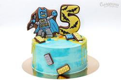 """Торт """"Бэтмен Лего"""""""