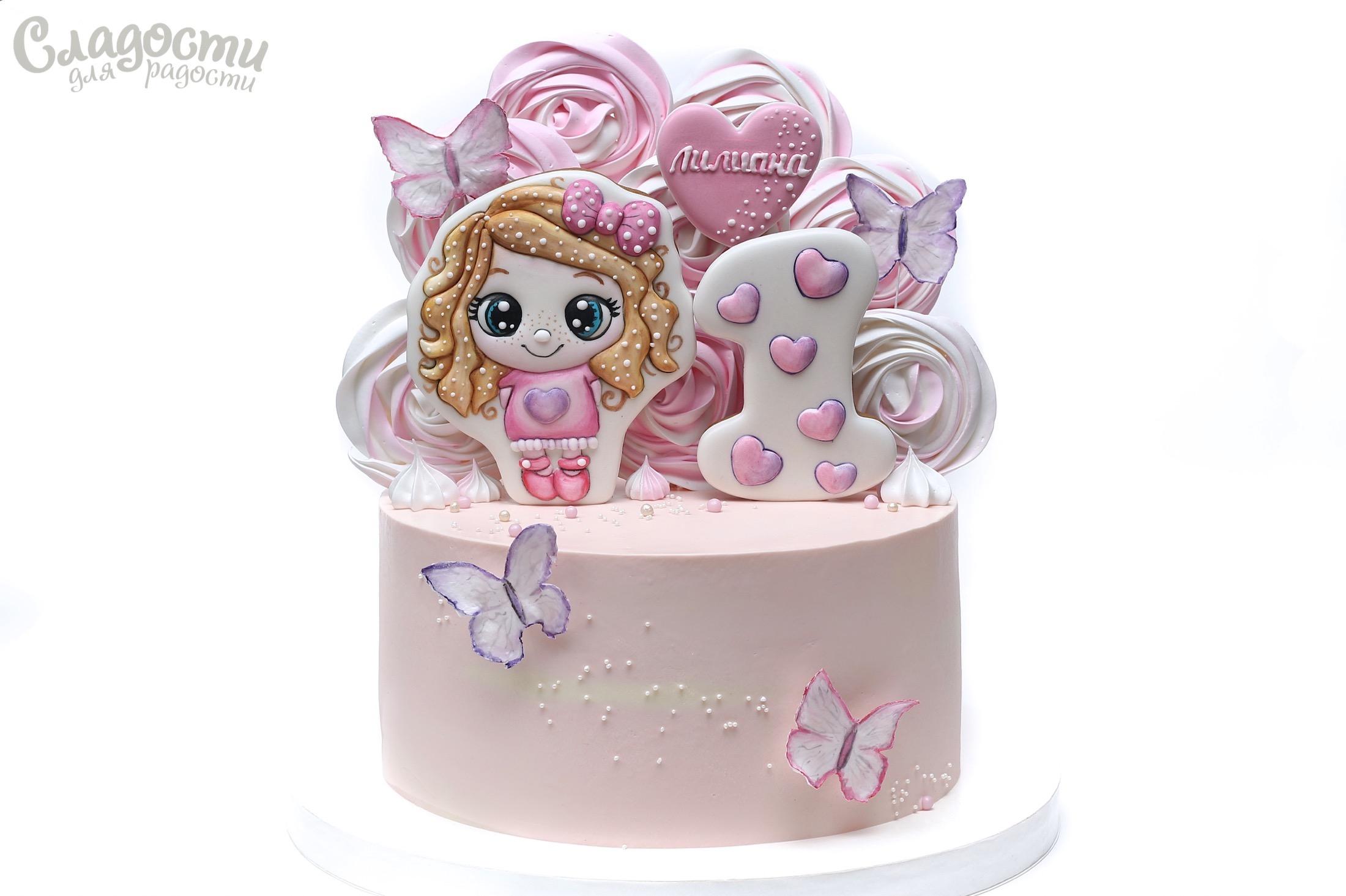 Торт с принцессой Киев.