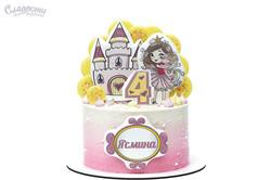 Торт с принцессой Киев