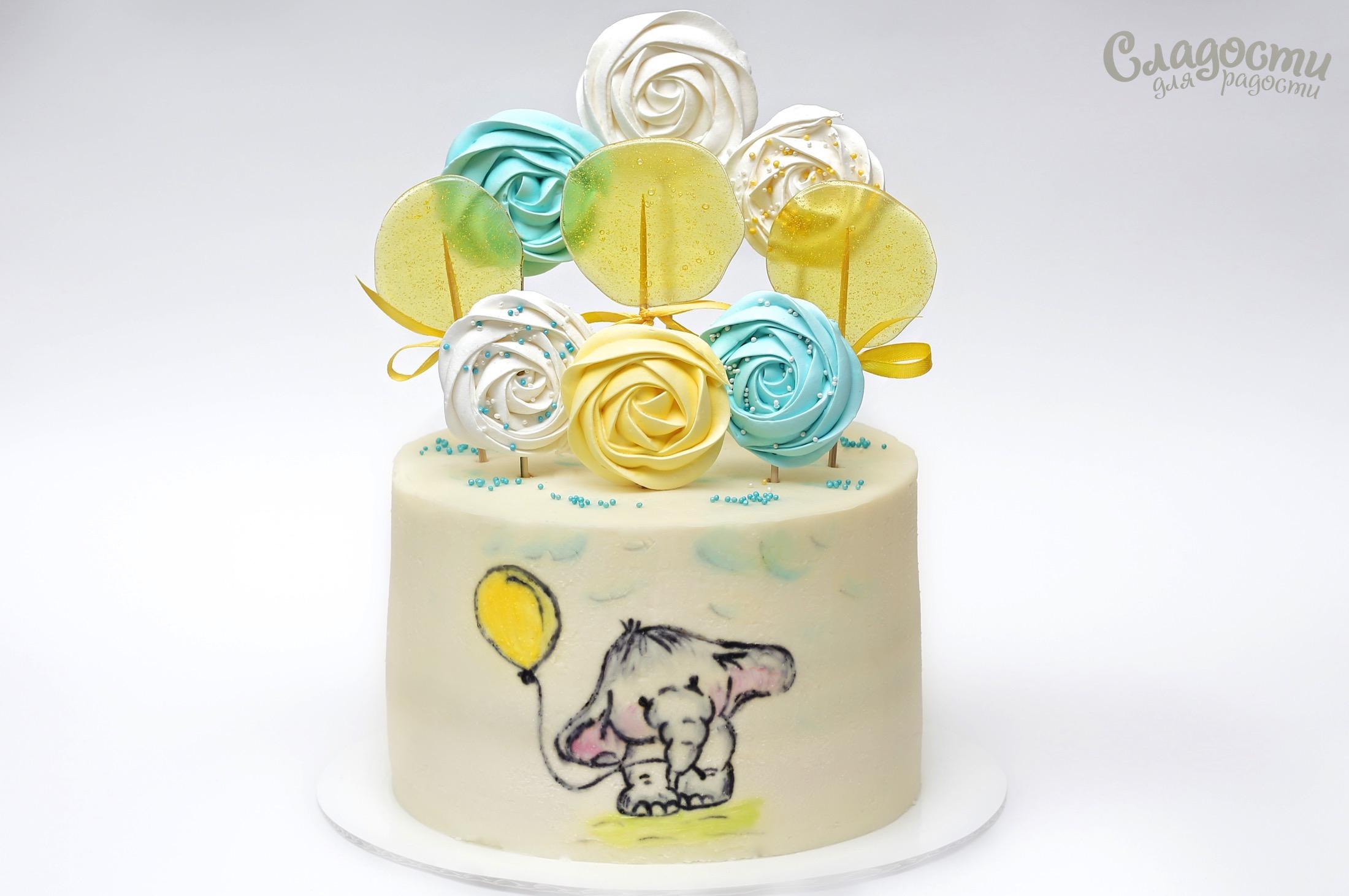 "Торт ""Слонёнок"""