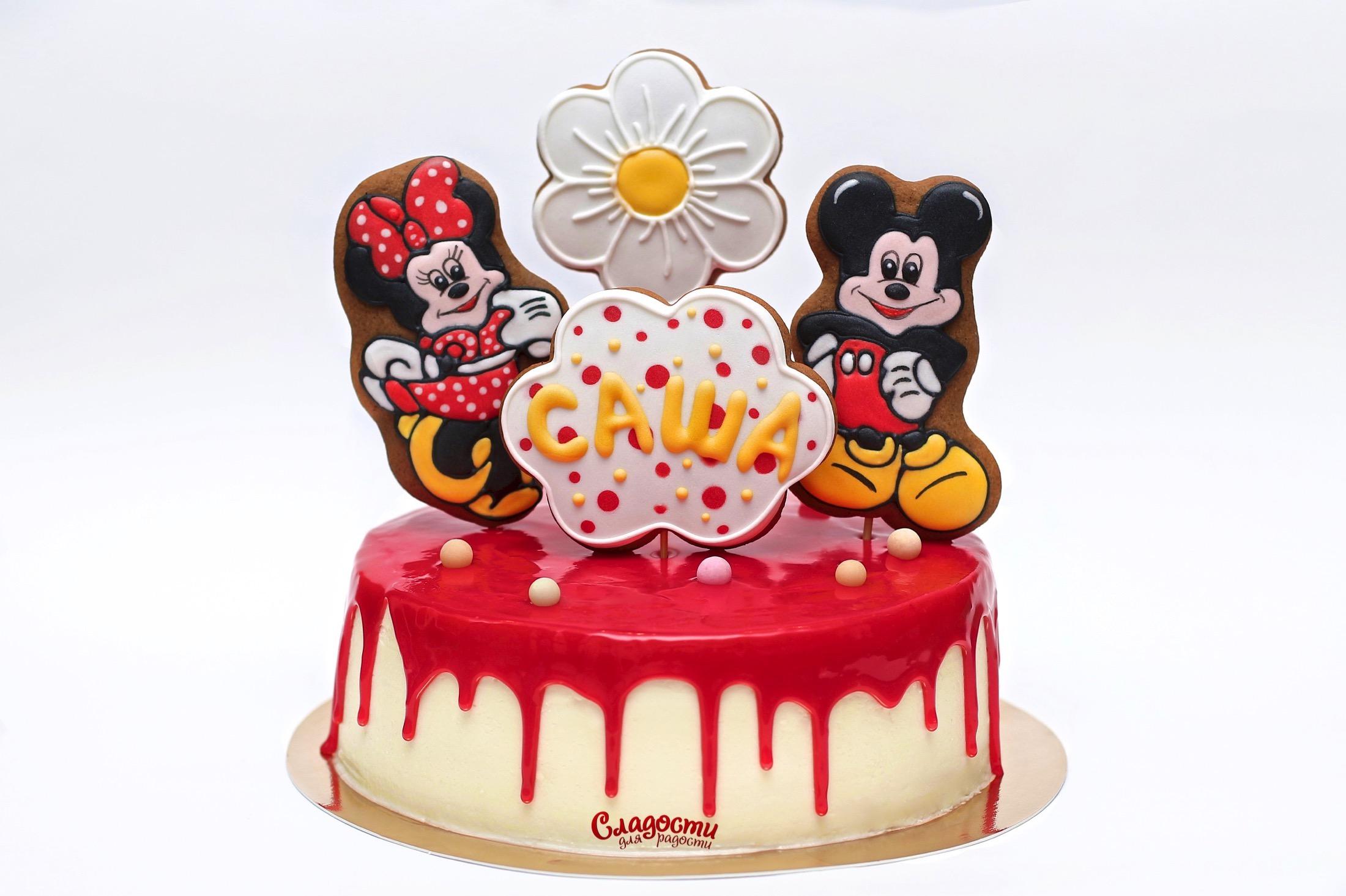 """Торт """"Микки и Минни"""""""