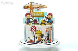 Торт Строительный для мальчика Киев