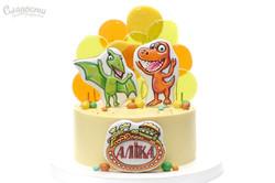 Торт с динозаврами Киев.