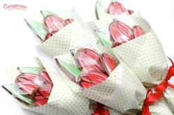 """Пряничный букет """"Тюльпаны"""""""