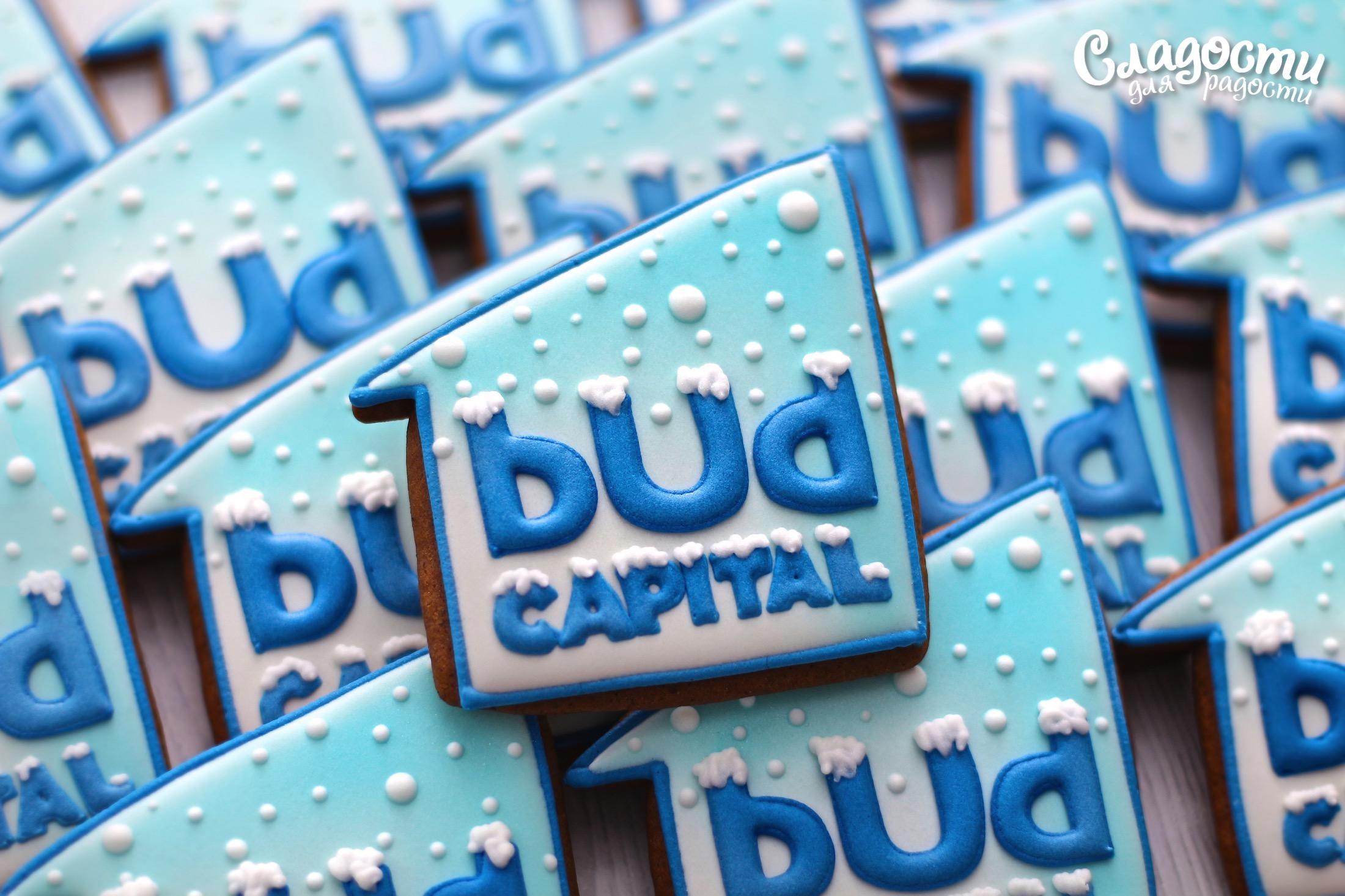 "Пряник с логотипом ""BUD CAPITAL"""