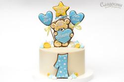 Торт детский на 1 годик