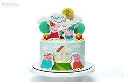 Торт Свинка Пеппа Киев