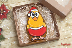 "Имбирный пряник ""Новогодний цыплёнок"