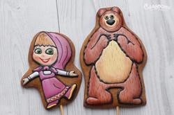 """Пряники """"Маша и Медведь"""""""