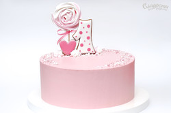 """Торт """"Розовое настроение"""""""