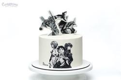 Торт Tvangelion Киев