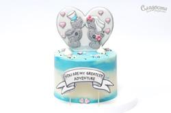 "Торт ""Два года вместе"""