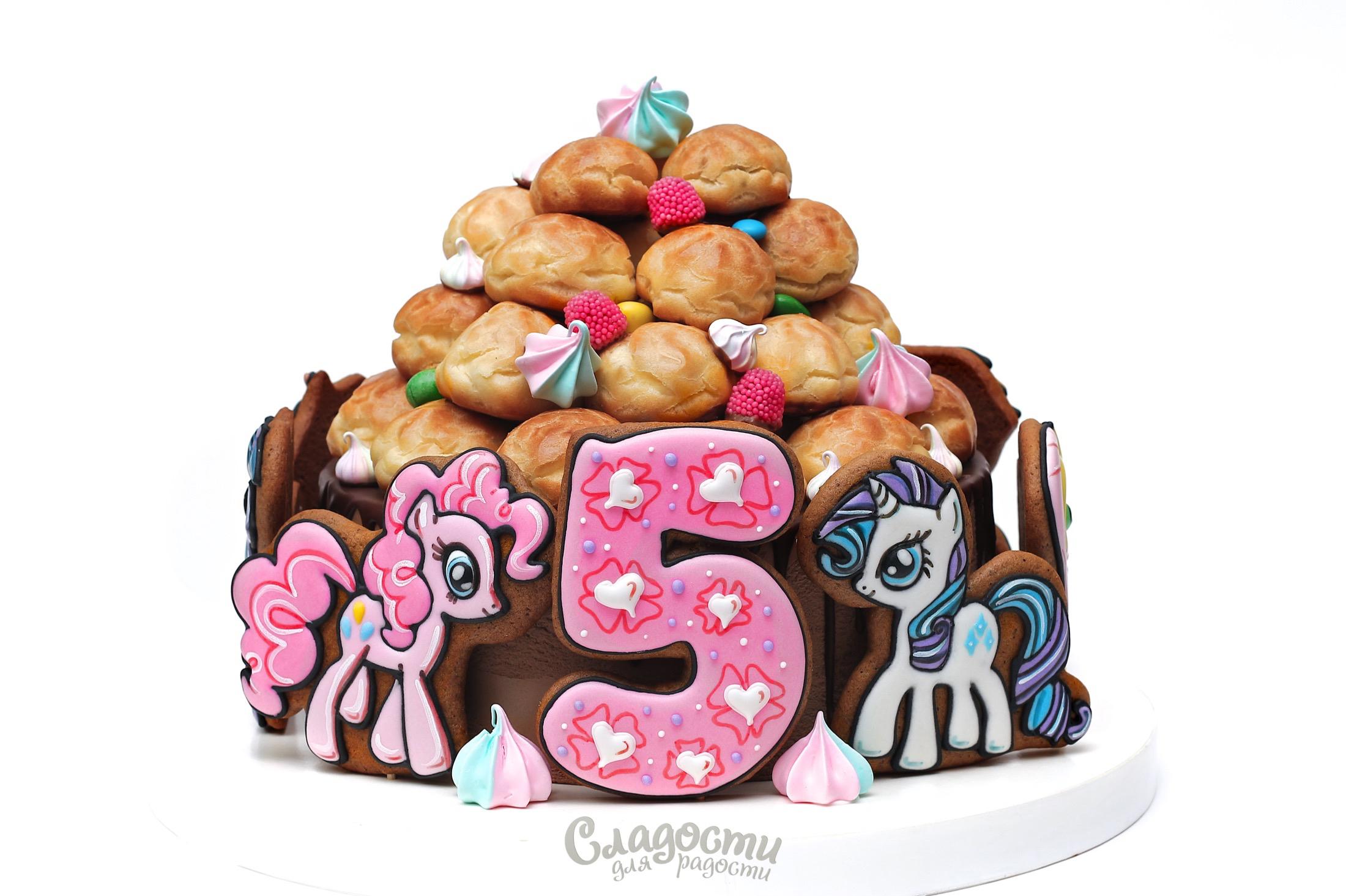 """Детский торт """"Пони"""""""
