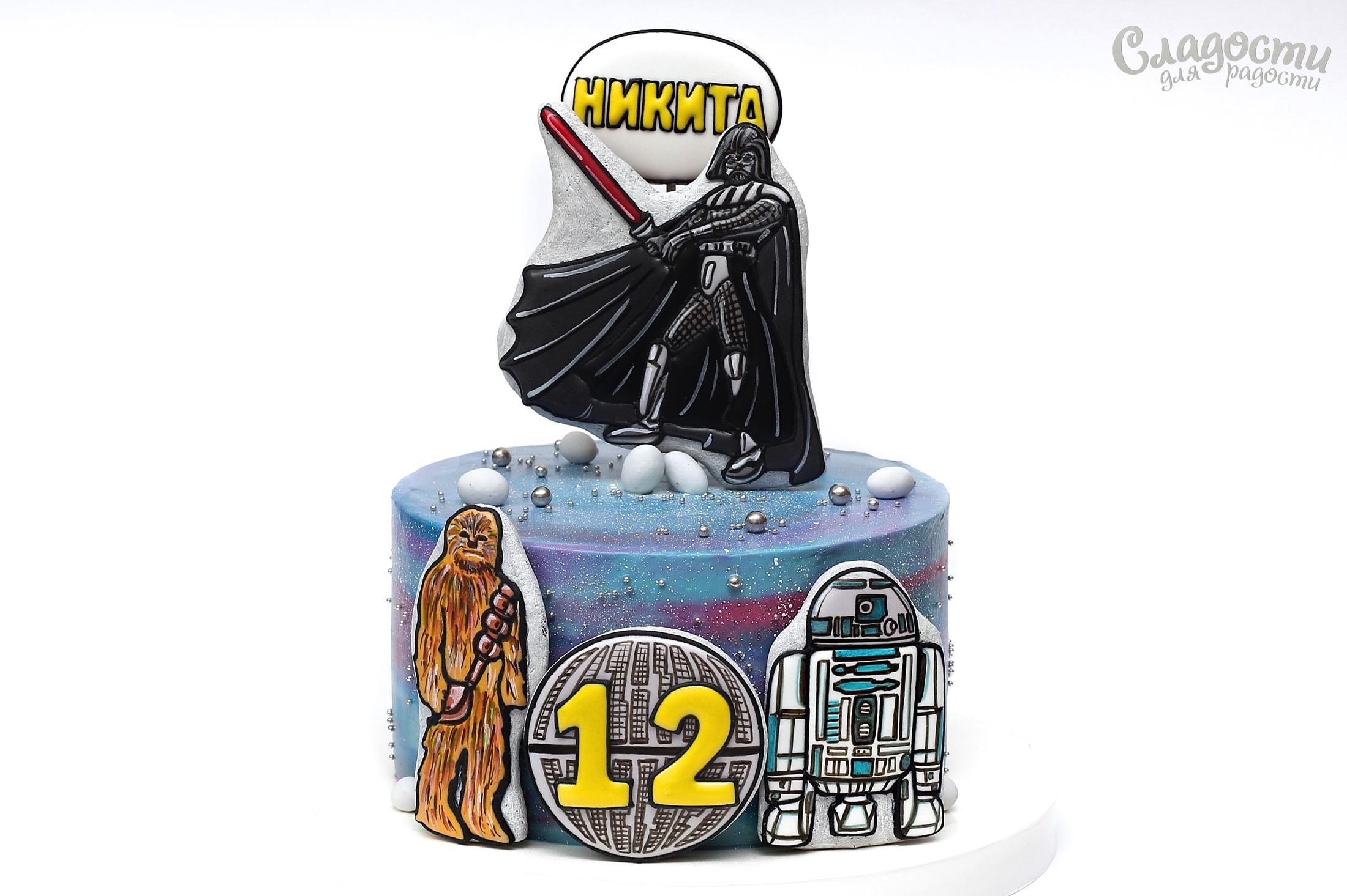"""Торт """"Звездные воины"""""""