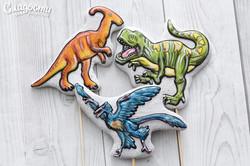 """Пряники """"Динозавры"""""""