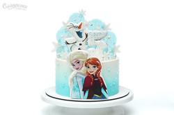 Торт Холодное сердце Frozen Киев