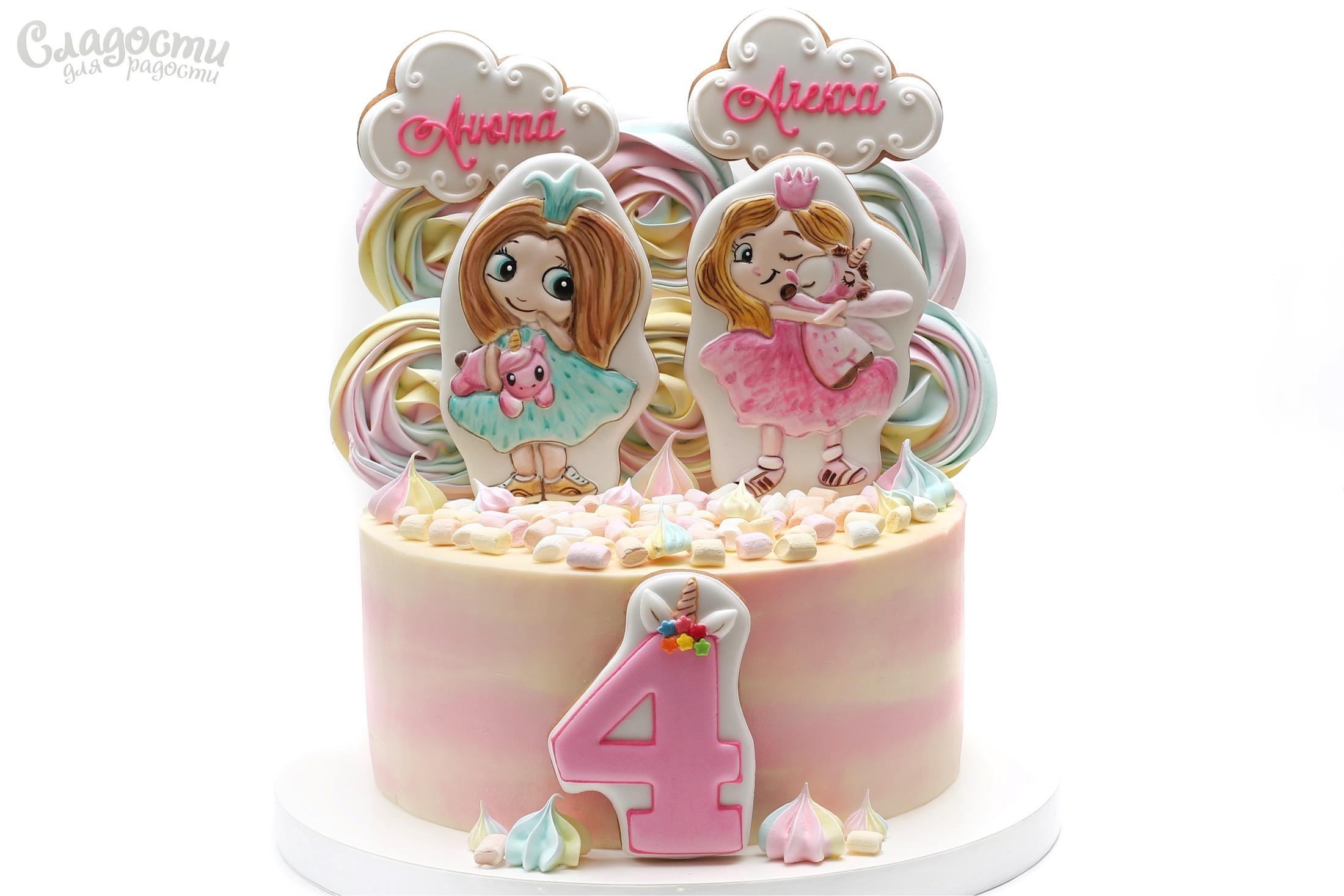 """Торт """"Принцессы"""""""