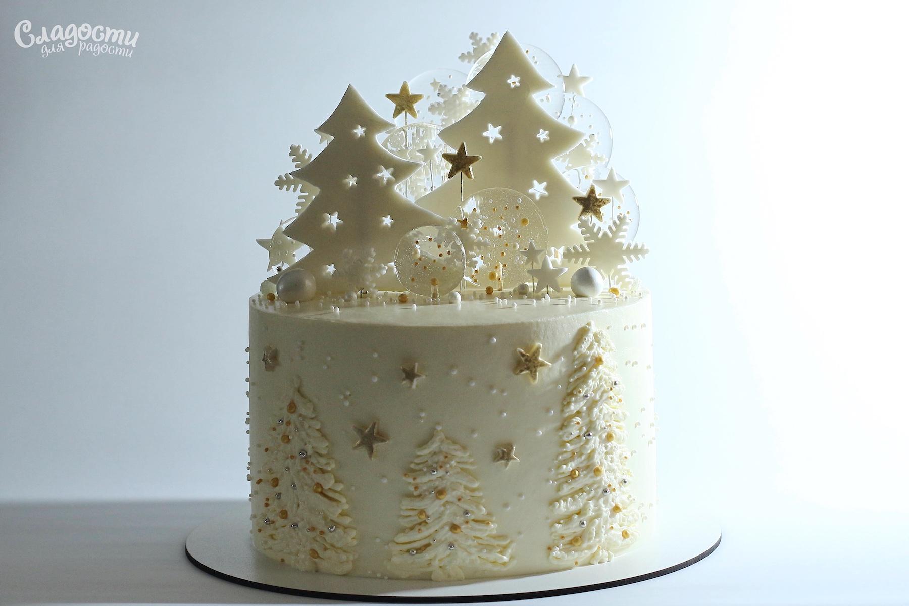 Торт Новогодний Киев