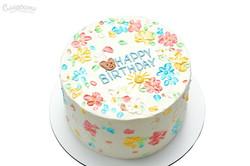 Торт с цветами Киев