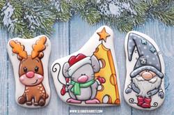 Пряники новогодние набор