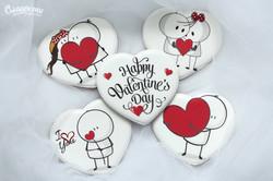 Пряники на день Святого Валентина Киев