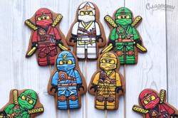 Lego Ninjago пряничные человечики